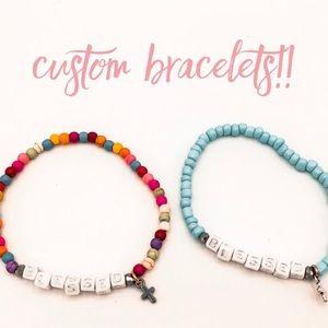 Handmade bracelets!!